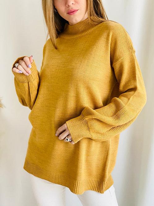 Sweater cuello alto Tulipan