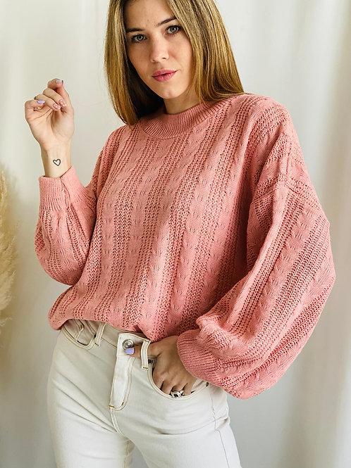 Sweater trenzas Lirio