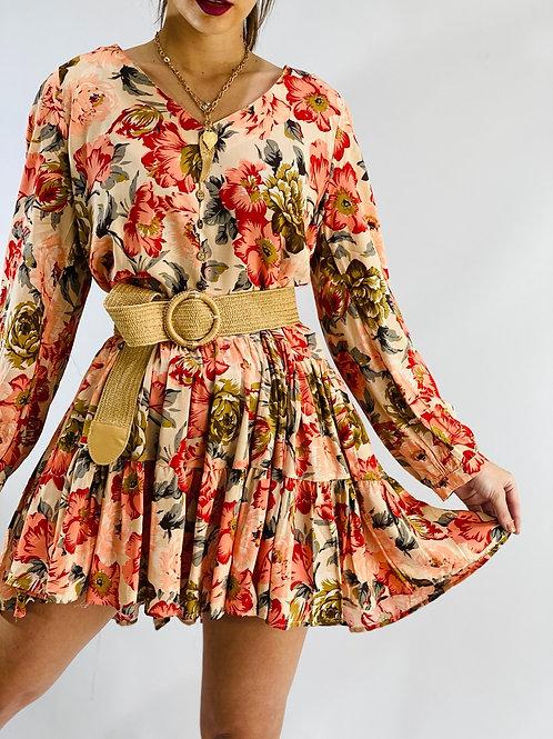 Vestido Zarita Flores