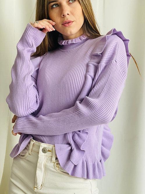 Sweater Love Lila