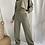 Thumbnail: Pantalon rustico recto con recortes Brisa