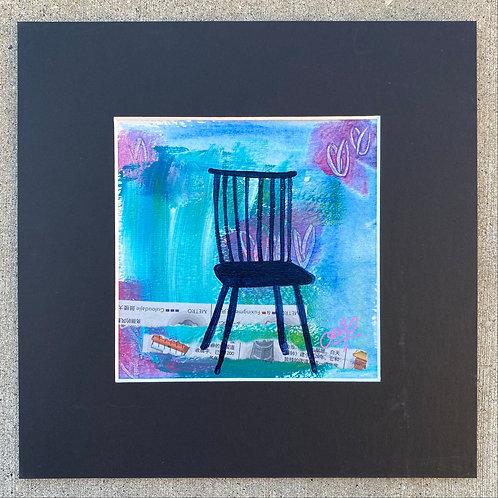fan-back side chair