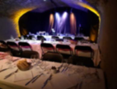 Soirée d'entreprise, soirée du personnel, dîner-spectacle, Carouge, Genève, location de salle
