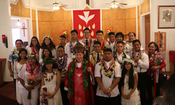 2018 Confirmation Picture with Bishop