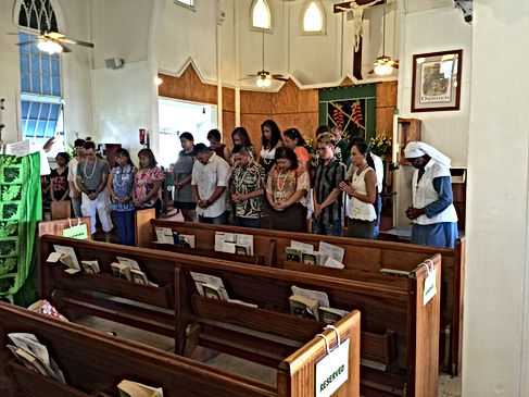 Blessing of our 2016 Religious Education Catechists. Photo submitted by: Shirley Sunio