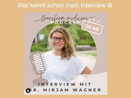 Meine Podcastfolge bei Transform Medicine