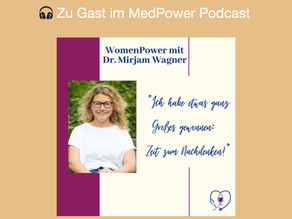 Mein MedPower Podcast-Interview