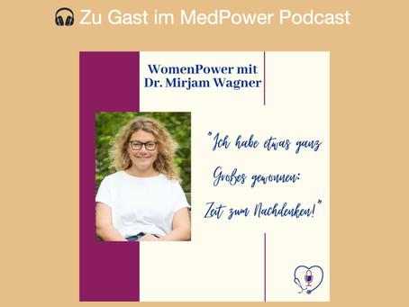 Mein MedPower Podcast-Interview
