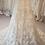 Thumbnail: Size 26 Enzoani blush and ivory lace A-line wedding dress