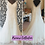 Thumbnail: Size 20 Romantica off the shoulder ivory tulle & bead wedding dress