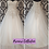 Thumbnail: Size 16/18 Lillian West ivory & silver ballgown wedding dress