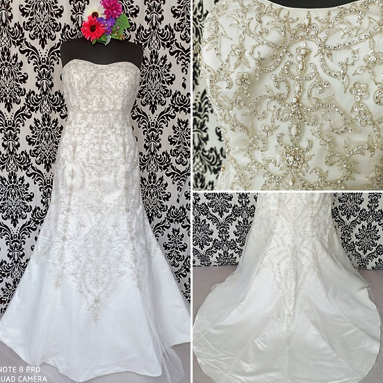 Size 24 Berketex fit & flare wedding dress