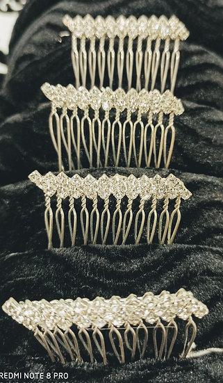 Diamante bar hair combs