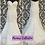 Thumbnail: Size 12 Sapphire Collection fit & flare dress with full lace & tulle overskirt