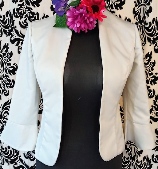 Forever Yours satin jacket (size 14)
