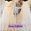 Thumbnail: Size 10/12 David Tutera 2-in-1 wedding dress with removable overskirt