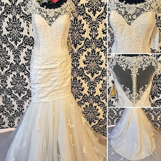 Size 14 Ian Stuart silk wedding dress