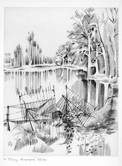 Blanchet- L'étang Désemparé