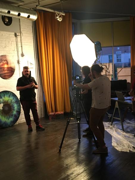 Art & Soul Video Shoot