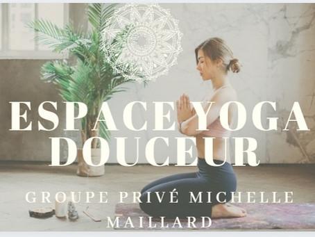 Ouverture d'un nouveau programme yoga douceur le 17 mai 🌸🌿
