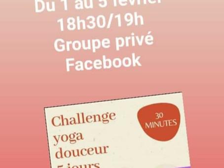 Challenge Yoga Douceur