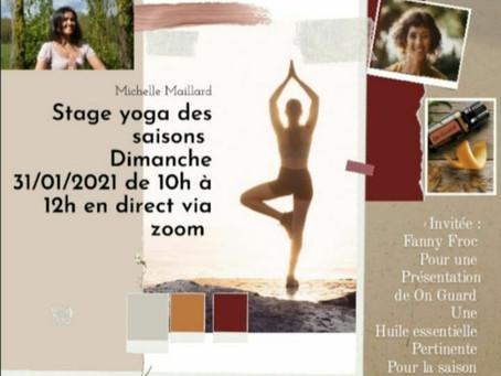 Atelier Yoga des saisons