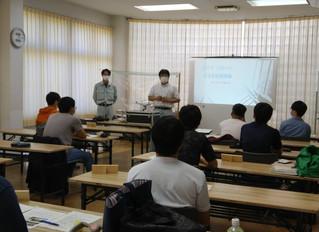 宍粟森林大学でUAV講習