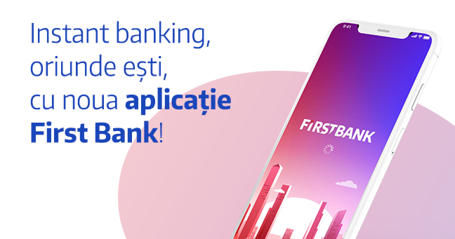A new mobile experience - First Bank