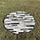 Thumbnail: Cowhide Patchwork Rugs Round Area Rug Gray