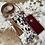 Thumbnail: Cowhide Crossbody Purse Phone Wallet Smartphone