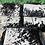 Thumbnail: Cowhide Crossbody Purse Handbag Wallet Clutch Black
