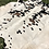 Thumbnail: Large Cowhide Rugs Tricolor Cow Skin Area Rug 5.5 x 5.5 ft