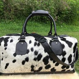 Cowhide Duffel Bags