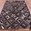Thumbnail: Cowhide Patchwork Rugs Area Rug Runner Cow Hide Black Brown Geometric