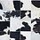Thumbnail: Cowhide Rug Patchwork Area Rugs Runner Cow Hide Animal Skin Print Black