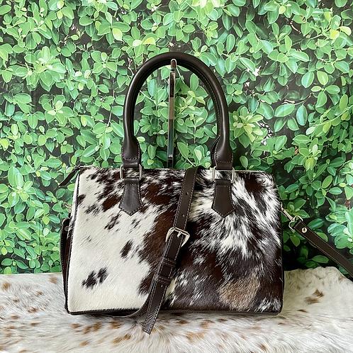 Cowhide Handbag Shoulder Bag Satchel Tote Purse