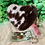 Thumbnail: Real Cowhide Coin Purse Keychain Id Card Case Gifts Heart