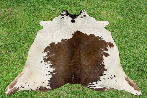 Small Cowhide Rugs Brown Area Rug 5 x 4 ft