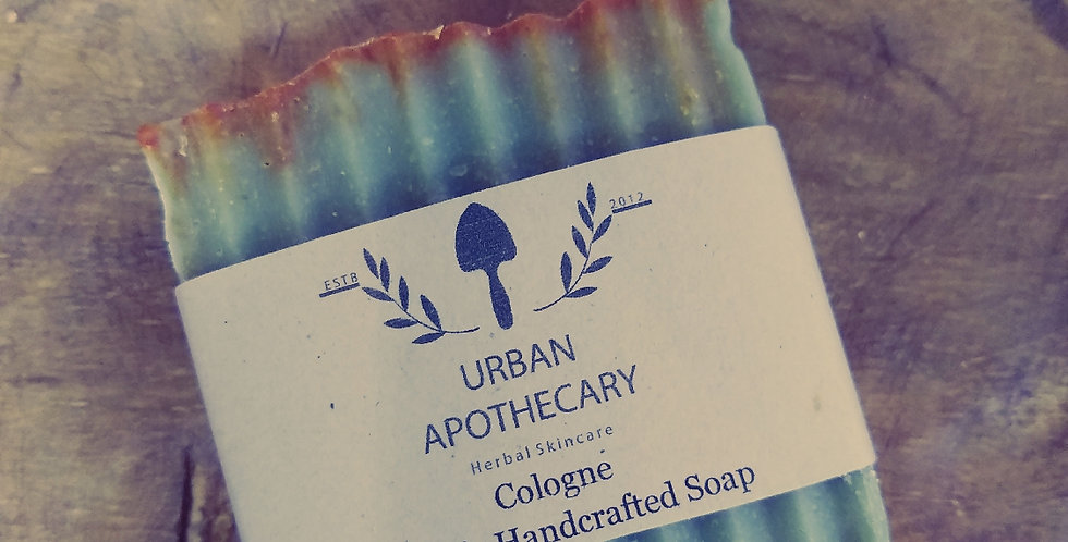 Cologne Organic Handcrafted Soap