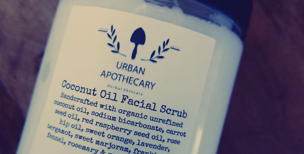 Coconut Oil Face Scrub
