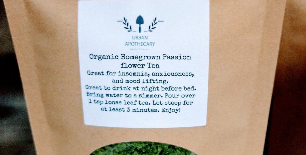 Organic Homegrown Passion Flower Tea
