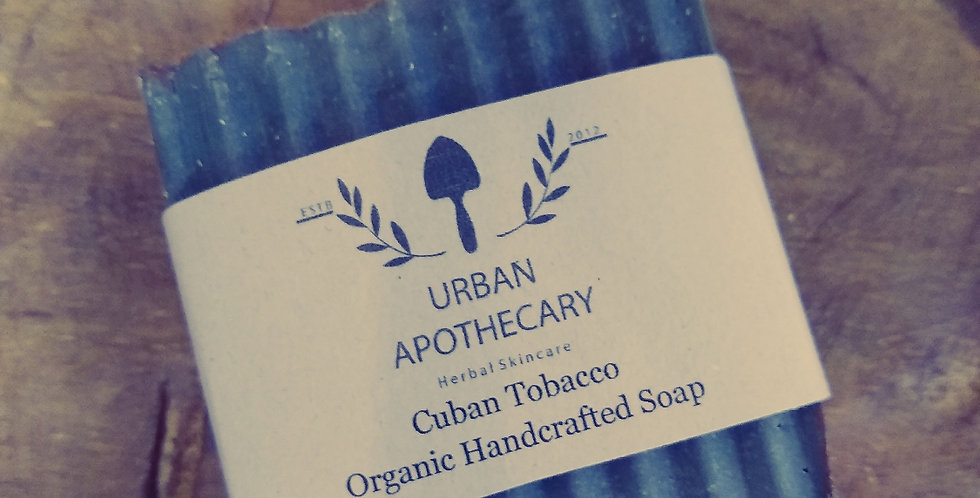 Cuban Tobacco Organic Handcrafted Soap