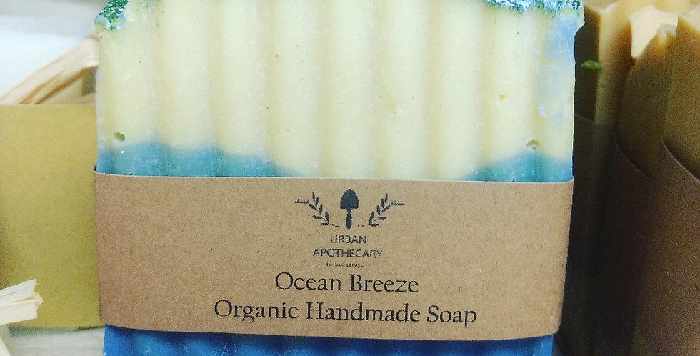 Organic Handmade Ocean Breeze Soap