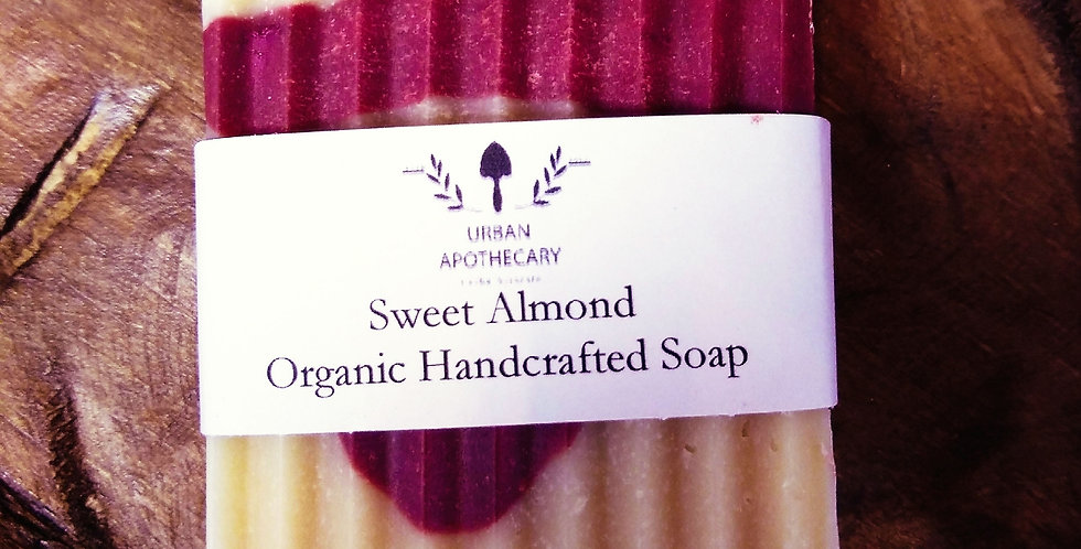 Organic Handcrafted Sweet Almond Soap