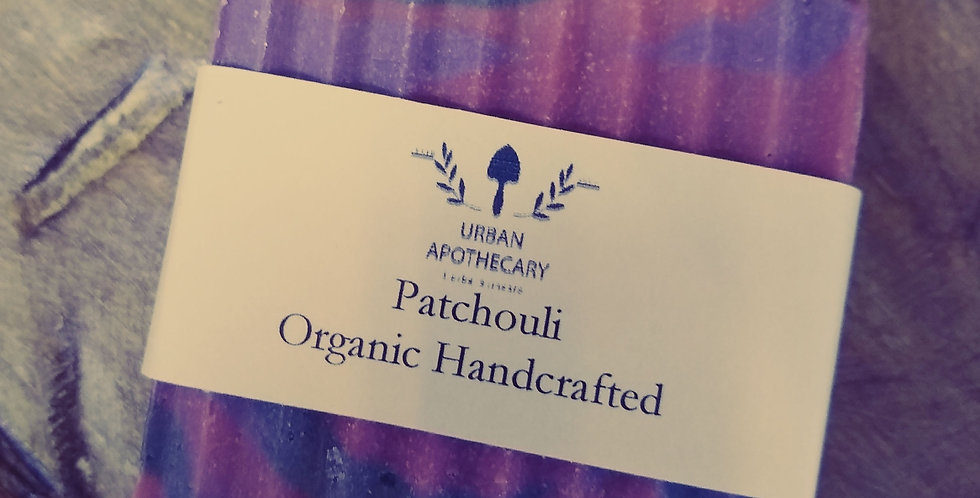 Handcrafted Organic Patchouli Soap