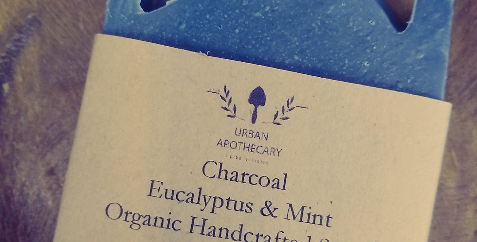 OrganicHandcrafted Charcoal soap