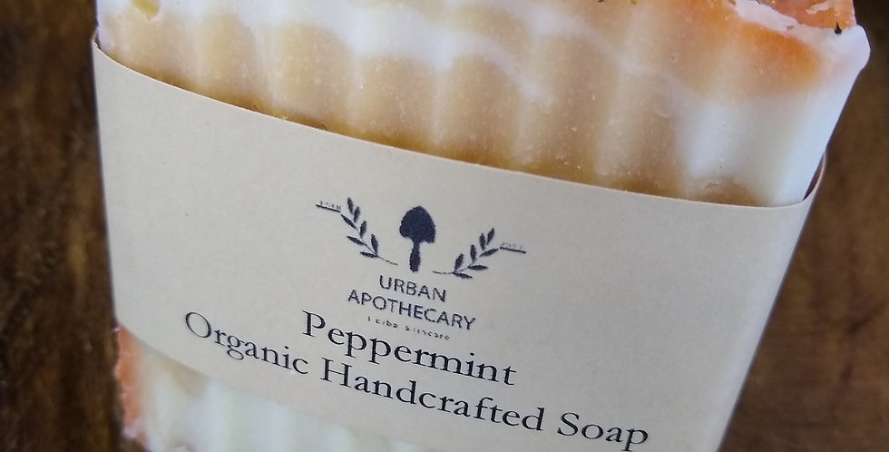 Organic Handcrafted Peppermint Soap