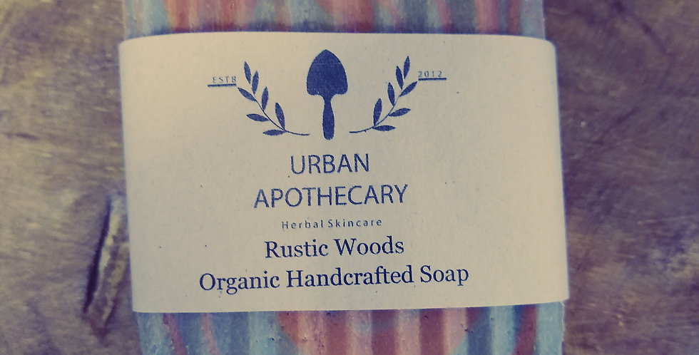 Rustic Woods Organic Handcrafted Soap