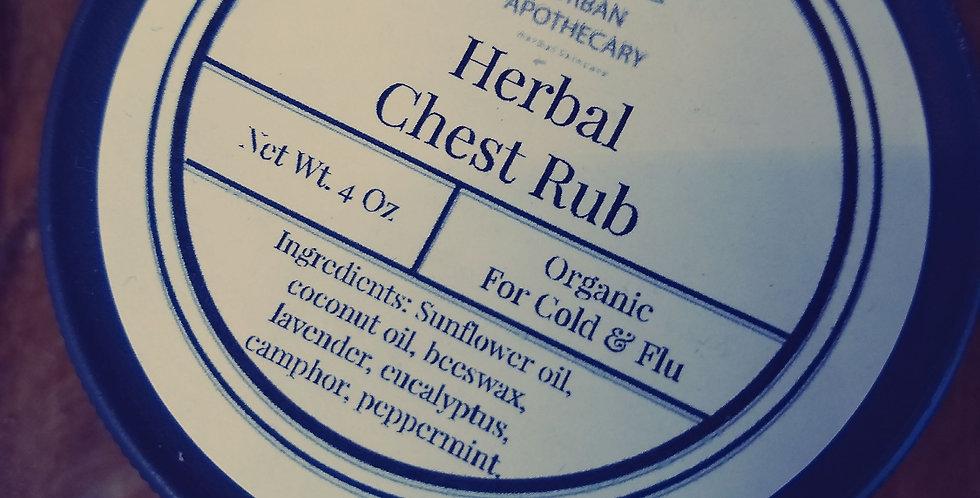 Organic Herbal Chest Rub