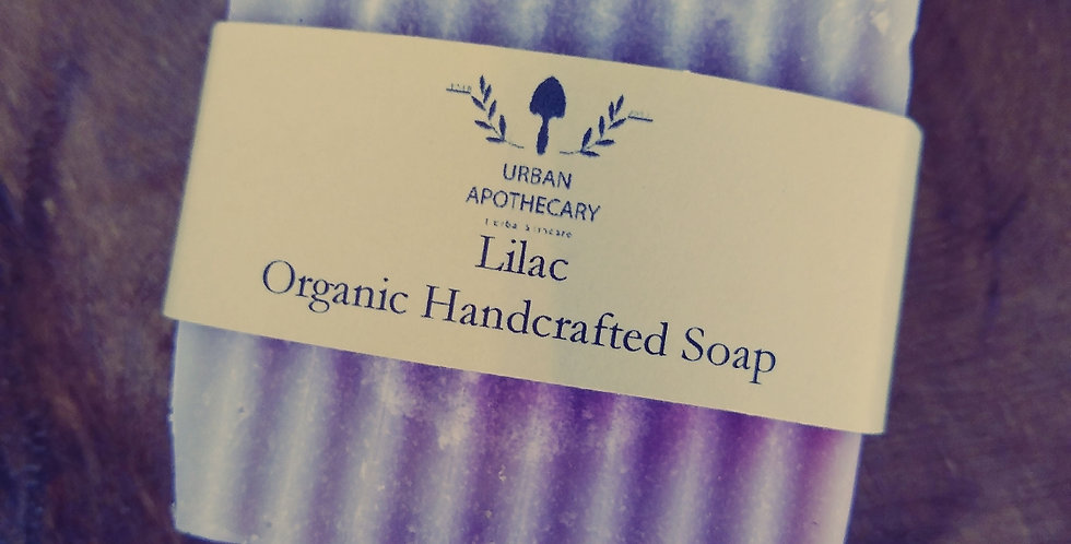 Handcrafted Organic Lilac Soap